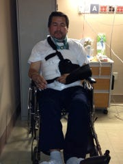 Hand out photo of Edgar Lopez who was seriously injured in a wrong way crash in White Plains on Nov. 4, 2014, in a vehicle driven by White Plains Firefighter Erik Refvik, 34.