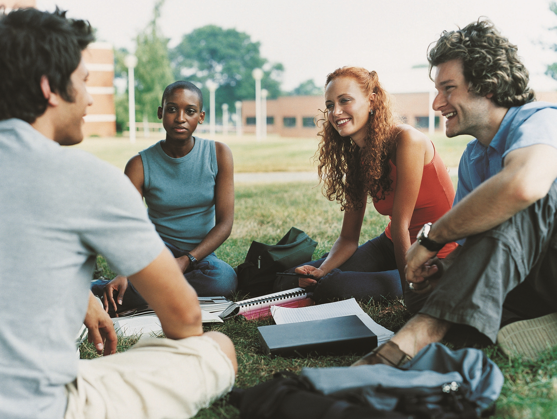Multi-racial Female College Students Royalty Free Stock Images ...