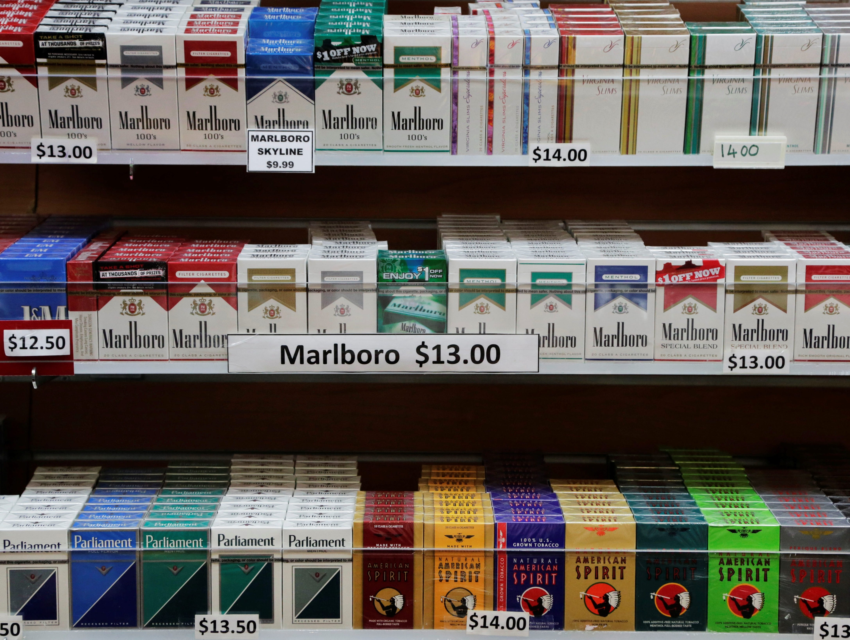 Lambert Butler gold cigarettes Iowa