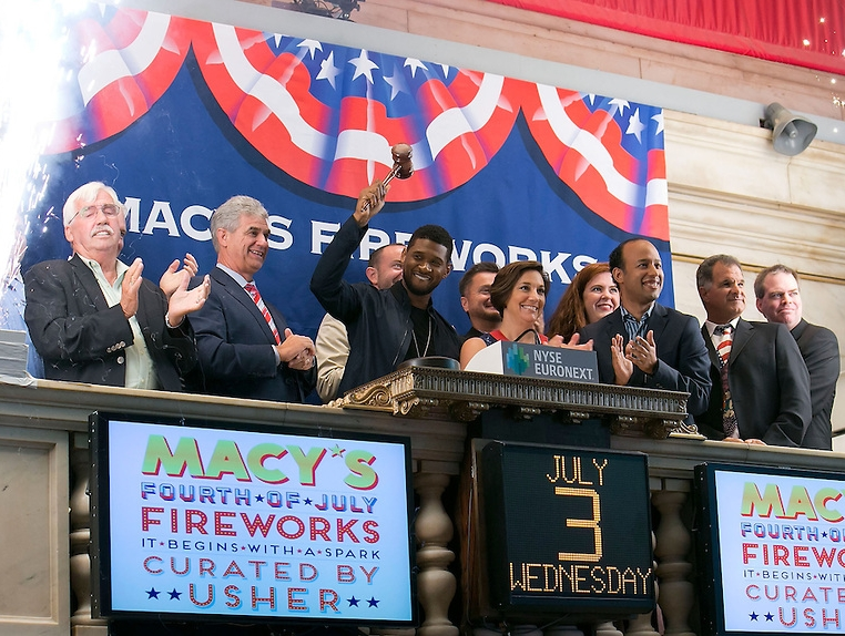 New Kids On The Block Ring The NYSE Closing Bell - Pictures