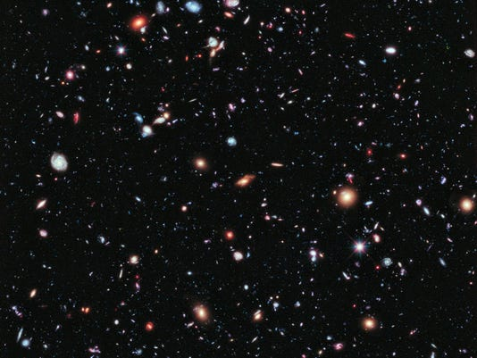 Hubble eXtreme Deep Field photo