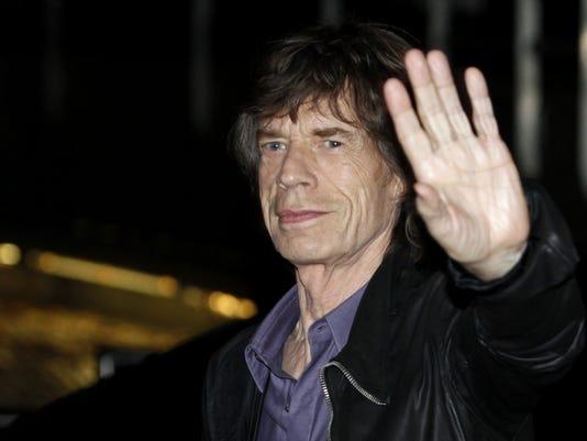Rolling Stones Paris gig