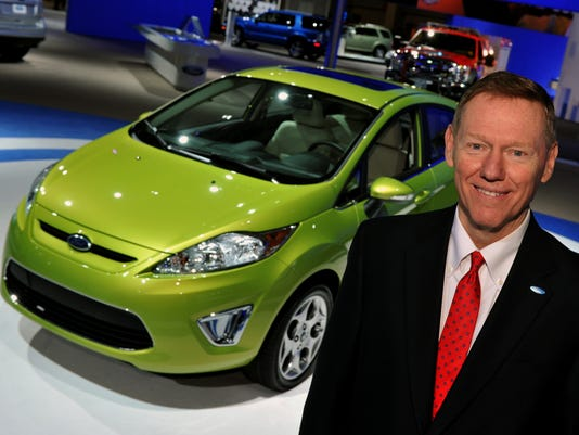 Alan Mulally at 2010 Washington DC Auto Show