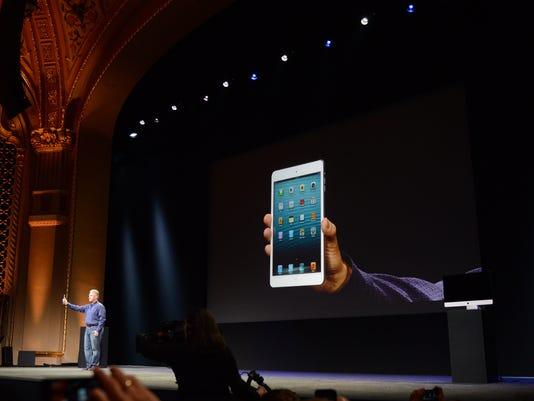 iPad Mini on stage