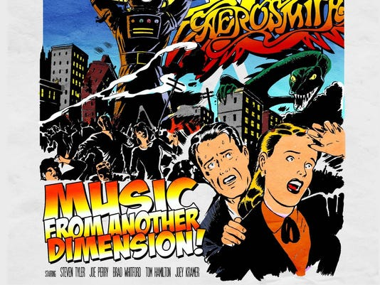 Aerosmith album sleeve