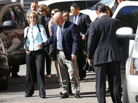 Giffords leaves court