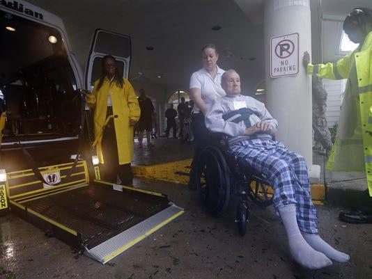 Nursing home evacuation