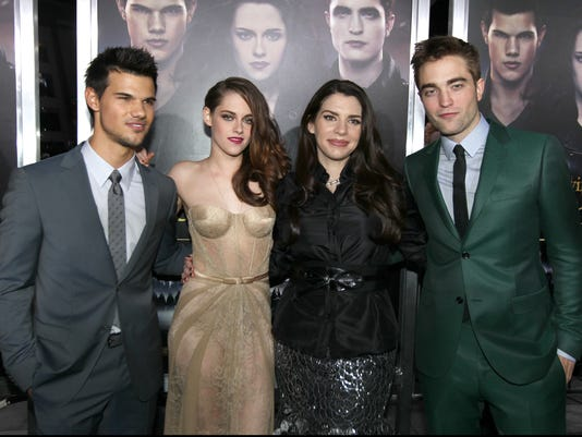 The Stars and Creator at 'Breaking Dawn, Part II' premiere