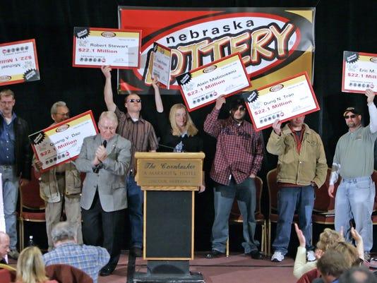 Nebraska lottery winners