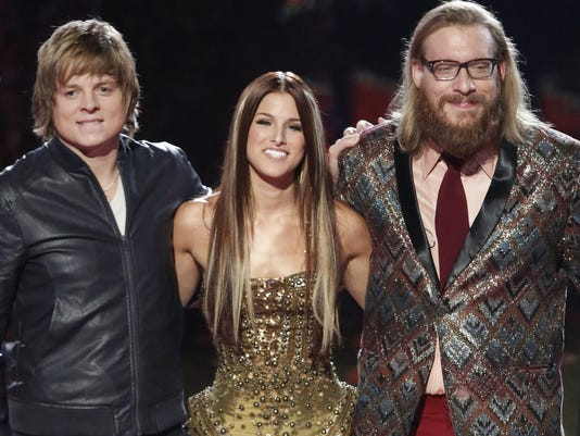 the voice final three