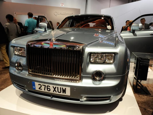 Electric-powered Rolls-Royce