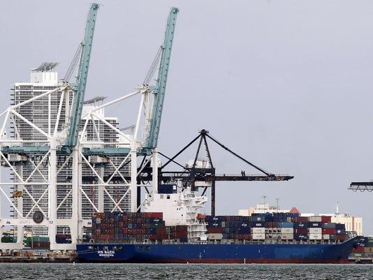 Port of Miami -- trade