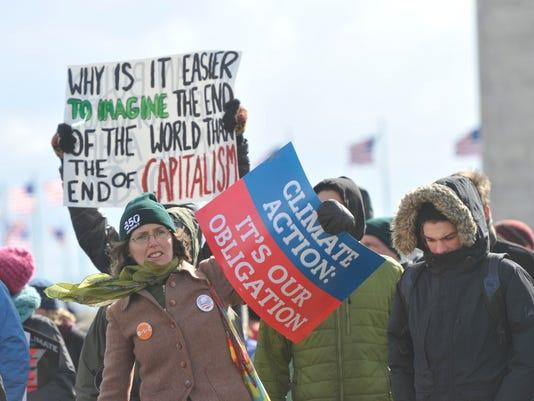 JG Climate rally