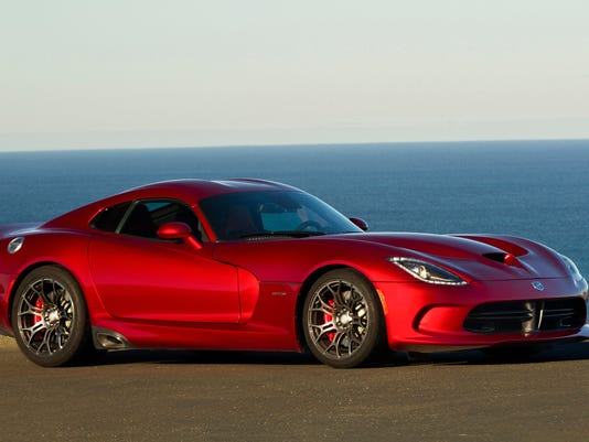 The redesigned 2013 SRT Viper GTS from Chrysler's high-performance ...