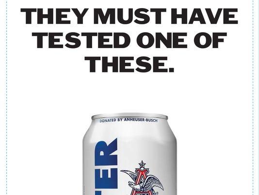 Anheuser-Busch mocking alcohol claim