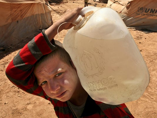 water syria