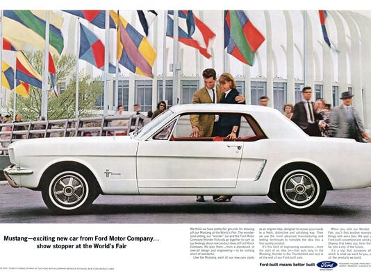 1964 Ford Mustang Advertisement