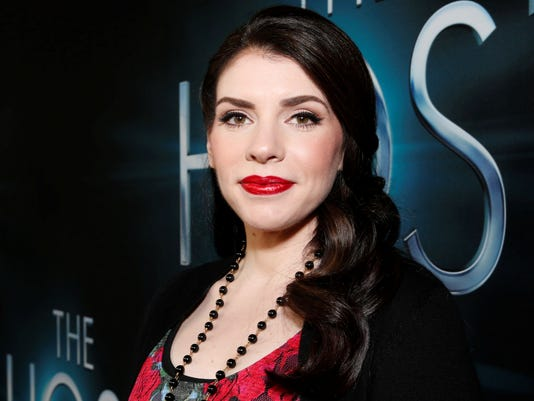 Stephenie Meyer at 'The Host' premiere