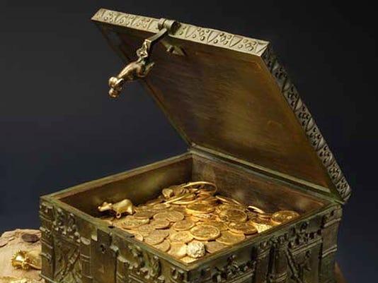 forrest fenn gold chest