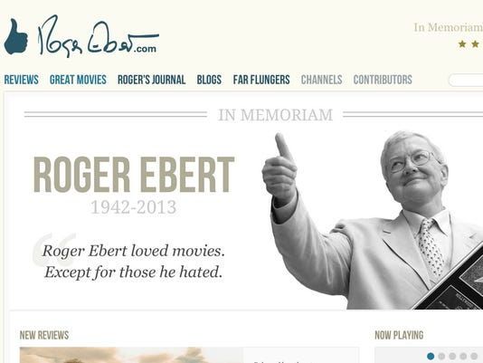 Roger's Relaunched Website