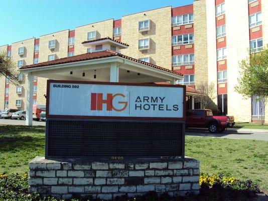 Army hotels
