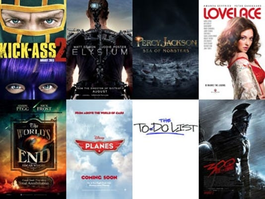 August Movie Posters