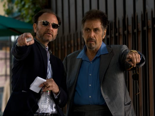 Fisher Stevens and Al Pacino