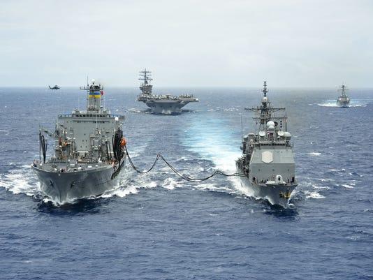 Navy exercise