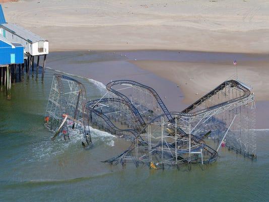sandy roller coaster 051413