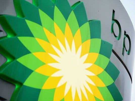 BP oil sign