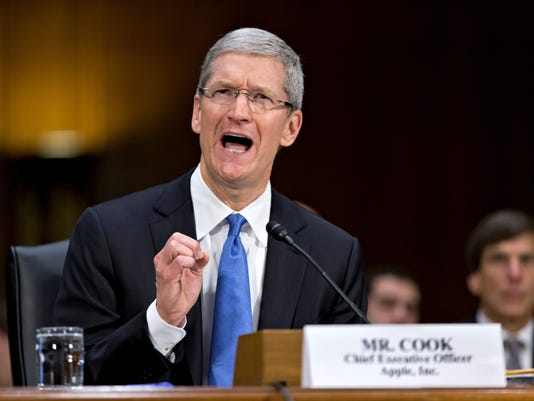 Apple CEO Tim Cook testifies