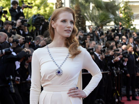 chastain cannes