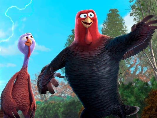 Sneak Peek:  Wilson and Harrelson as 'Free Birds'