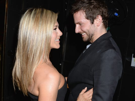 Jennifer Aniston and Bradley Cooper