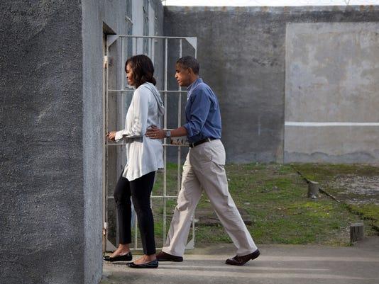 Obama Robben Island