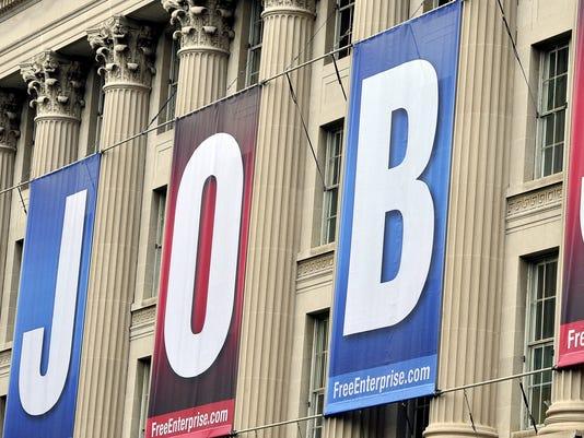 U.S. Chamber of Commerce jobs sign