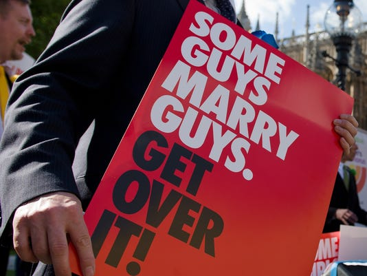 Gay marriage Britain