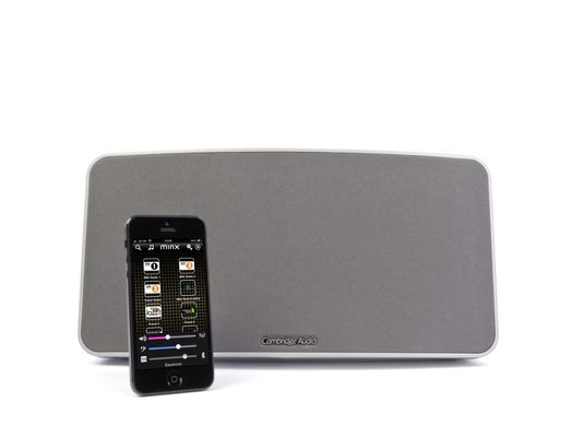 New products: Wireless speaker streams from iPhone