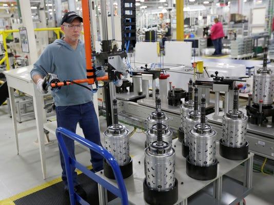 Chrysler worker at Kokomo plant