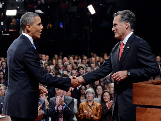 Your Say: Obama, romney