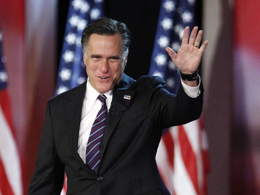 Your Say: Romney