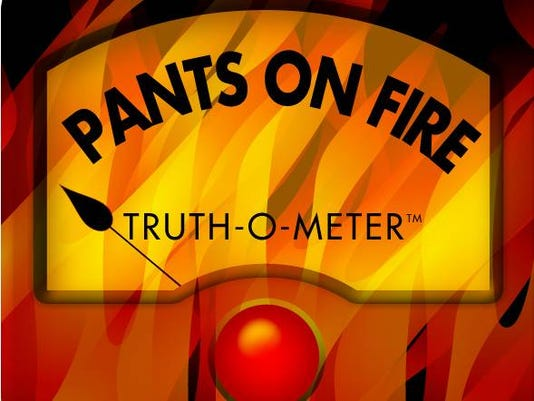Pants on Fire rating