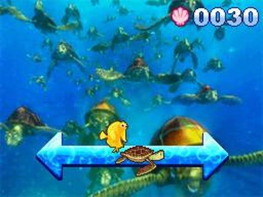 finding nemo game screen shot