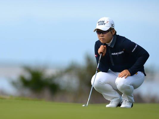 9-15-12 Jiyai Shin Women's British Open 1