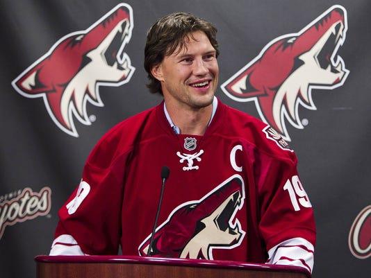Shane Doan Phoenix Coyotes