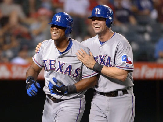 Adrian Beltre Michael Young