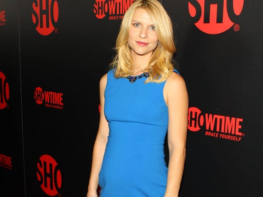 Claire Danes at Showtime party