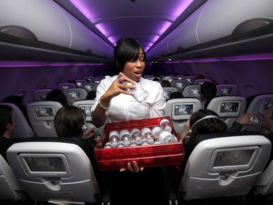 virgin america food