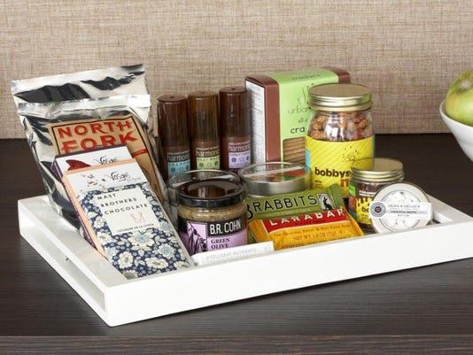 healthy hotel food minibar