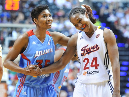 2012-9-26-Angel McCoughtry-Tamika Catchings